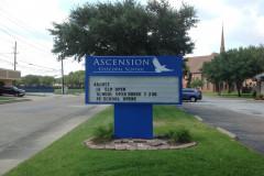 Houston Church Sign